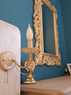 Lamp#bedroom#спальня#зеркало#лампа#