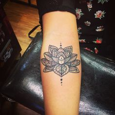 #TattooKrewInk #PaisleyTattoo #LotusTattoo
