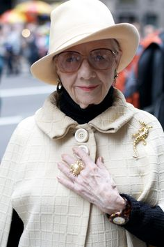 Advanced Style, age is a privilege denied b many so let us celebrate!