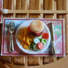 Miniature Food Hamburger and Fries | Flickr - Photo Sharing!