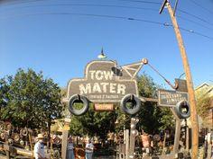 In The Spotlight: Mater's Junkyard Jamboree at Cars Land in Disney California Adventure, Anaheim, CA