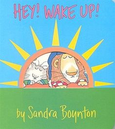 Hey! Wake Up! by Sandra Boynton at Pumpkinheads. Boynton has and always will be a classic for new babies. Create a cute stack of cardboard books for the ultimate baby gift.