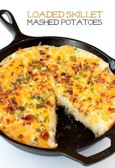 Crispy on the bottom, creamy on the inside and a cheesy, bacon-filled topping!