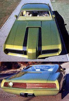 1969 Mercury El Gato Prototype
