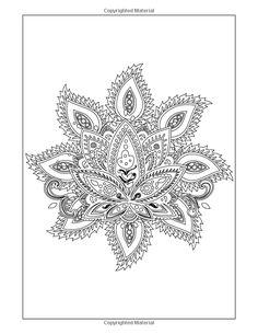 Coloring Books for Grownups: Indian Mandala Coloring Pages: Intricate Mandala Coloring Books for Adults: Chiquita Publishing: 9781505214154: Amazon.com: Books