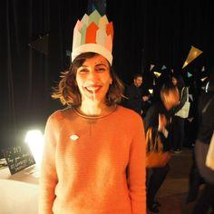 @lesgambettessauvages Avec le headband @hejublog #klindoeil #pichforkmusicfestivalparis #pk4paris #toga by klindoeil