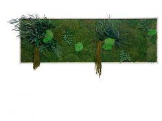 Machový obraz GREENIN leafy