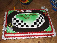 Disney Cars Birthday Party Ideas Decoration Daughters 33 New Ideas Disney Cars Birthday, Cars Birthday Parties, Birthday Diy, Birthday Cakes, Birthday Ideas, Racing Cake, Race Car Cakes, Dirt Bike Cakes, Race Party