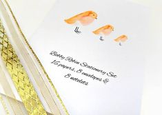 Bobby Robin stationery set with matching notelets writing paper and envelopes, perfect for Christmas or thank you cards and letter writing Writing Paper, Letter Writing, Note Cards, Thank You Cards, Presentation Folder, Stationery Set, Folded Cards, Bobby