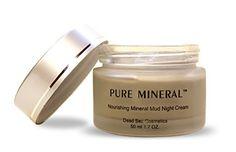 Best Anti Aging Mud Night Cream - Luxury Night Recovery Moisturizing Treatment http://www.amazon.com/Moisturizing-Treatment-nourishes-Including-Retinol-50/dp/B00F1TETFW