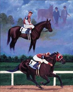 A Tribute To Seabiscuit - Seabiscuit, a legend of the Depression-era is and will always be one of the most famous racehorses in the long history of American racing.