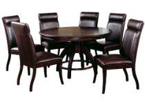 hillsdale nottingham round 5 piece dining set dark espresso set includes 1 table and 4 chairs Dining Room Furniture Sets, Dining Room Sets, Bar Furniture, Furniture Deals, Dining Room Table, Dining Chairs, Best Dining, Round Dining Table, Hillsdale Furniture