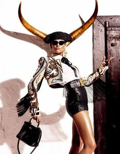 Taurus - Bianca Balti for Vogue - http://simplysunsigns.com/