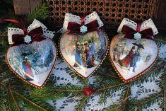 """Купить Набор игрушек """"Изящный век""""(6пр+шкатулка) - Новый Год, новогодний подарок, новогоднее украшение"""