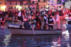 The Pirates night, every year, in May, Porto Ercole, #maremma, #tuscany, #Italy