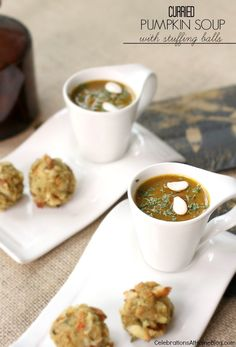 Make this curried pumpkin soup for the perfect starter to a holiday dinner.