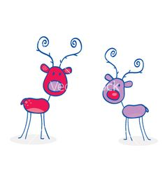 Doodle christmas vector 111613 - by lordalea on VectorStock®