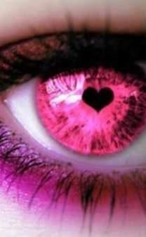 """pink"" - just a glance at my wife, when we meet eye to eye; she is my woman, and I am her guy ~:^)>"