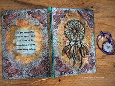 Dreamcatcher Journal Personalized Journal Custom Journal Art Drawings For Kids, Disney Drawings, Custom Journals, Personalized Journals, Art Journals, Custom Sketchbook, Journal Covers, Book Covers, Cat Pee