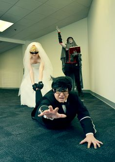Dirkjake cosplay<<IS NO ONE GONNA ADDRESS THAT THE SIGNLESS IS MARRYING THEM OFF!??!!?