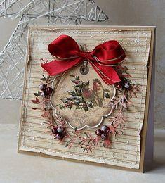 ... w karteczkowej oprawie.   Wszystkie 4 powstały z kolekcji  Riddersholm Design     A Christmas Story                              Okien...