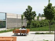 l rmschutz infrastruktur gesch ftsbereiche betonwerk rieder sichtschutz schallschutz. Black Bedroom Furniture Sets. Home Design Ideas