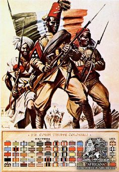 Italian Colonial Troops. All Colors | Flickr - Photo Sharing!