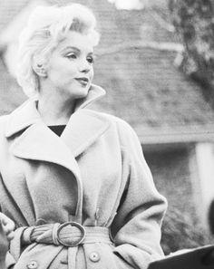 Marilyn Monroe fotografiada por Gene Lester, 1956