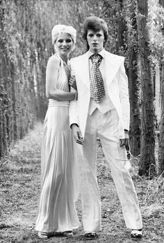 David & Angie Bowie, Wedding photo by Terry O'Neill Angela Bowie, David Bowie, David Jones, Heavy Metal, Terry O Neill, Moonage Daydream, Just Deal With It, The Thin White Duke, Tribute