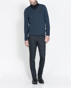 Image 5 of EXTRAFINE MERINO PULLOVER from Zara