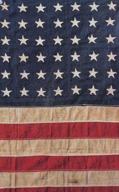 structuur, door het patroon van strepen en sterretjes op de vlag