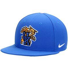 fedc1babf03 Kentucky Wildcats Nike True Hardwood Seasonal Snapback Adjustable Hat -  Royal