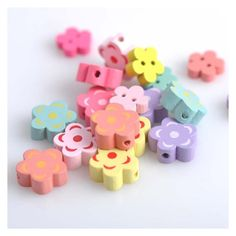 En Bois Perles Bébé Spacer Perles À faire soi-même Making kids toys crafts Accessories 34 mm