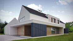 Bungalow Extensions, House Extensions, Residential Architecture, Architecture Design, Gable House, Modern Barn House, Townhouse Designs, Bungalow Renovation, Modern Farmhouse Exterior