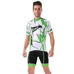 Men's Back Pocket Riding Jersey and Shorts