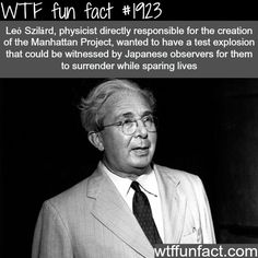 Leo Szilard - WTF fun facts