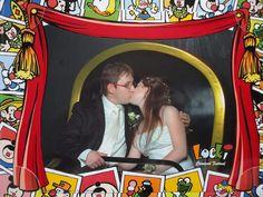 Melanie maakte deze leuke trouwfoto in de Efteling