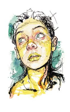 Limited Artprints aviailable at shop.dominicbeyeler.com #dominic beyeler #Portrait # Portraitsketch # Sketch #Drawing #Draw #Portraitdrawing #Art #Aquarelle #Watercolor #Messylines #Ink