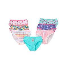 Toddler Girls Pastel Pink Underwear 7-Pack by Gymboree