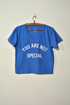 Croptee Not Special - Remera Corta