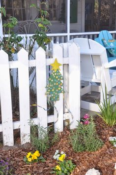 "We had so much fun on the tour and I took a few pictures to share with you. These are from steps to the beach"" cottage, ""The White Hou. Bohemian Style Clothing, Style Clothes, 99 Steps, Beach Gardens, Beach Cottage Decor, Beach Cottages, Christmas Florida, Repurposed, Farmhouse"
