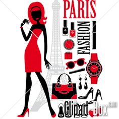 CLIPART PARIS FASHION
