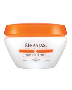 """The """"Holy Grail"""" of deep conditioners,  Kérastase Nutridéfense """"turns straw into silk"""" and makes hair """"perfect."""""""