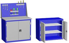 Купить слесарные тумбы для инструмента в Москве и Московской области. Производство тумб инструментальных для сервиса.