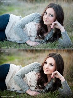 Before-After Editing photoshop. Ugh I need photo shop! Who wants to buy it for me?