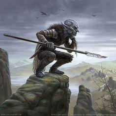 Goblin Pursuer by joelhustak.deviantart.com on @DeviantArt