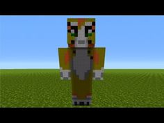 How To Build A Large Jungle Tree House In Minecraft YouTube - Skins para minecraft pe tsuna