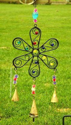 ♥ ~ Divine Bells 'n' Beads Chimes from Moonbeams and Mayhem : http://www.ebay.co.uk/itm/ENCHANTING-FLOWER-BELLS-N-BEADS-WIND-CHIME-BOHO-HIPPIE-FESTIVAL-DREADS-/111531709643?