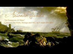 "A. VIVALDI, ""La Tempesta di Mare"" Concerto for Flute,Strings & B.C. in F major RV 433, Gli Incogniti - YouTube"
