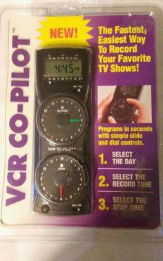 Consumer electronics VCR recorder